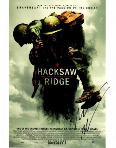 Andrew Garfield Signed - Autographed Hacksaw Ridge 11x14 inch Photo - Guaranteed to pass BAS