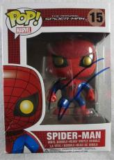 Andrew Garfield Spiderman Autographed Signed Funko Pop Doll Authentic PSA/DNA
