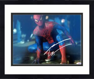 """Andrew Garfield """" The Amazing Spider-Man """" Signed 11x14 Photo PSA/DNA"""