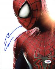 Andrew Garfield The Amazing Spider-Man Signed 8X10 Photo PSA #Z90952