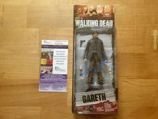 Andrew J West Signed Gareth Walking Dead Action Figure JSA Coa