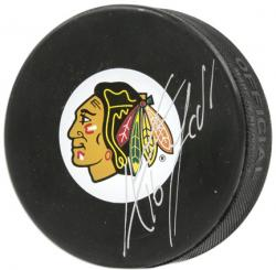 Chicago Blackhawks Andrew Ladd Autographed Puck