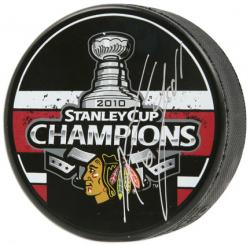 Chicago Blackhawks Andrew Ladd 2010 Stanley Cup Champions Autographed Puck