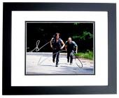 Andrew Lincoln and Norman Reedus Signed - Autographed The Walking Dead 11x14 inch Photo - BLACK CUSTOM FRAME - Rick Grimes - Daryl Dixon- Guaranteed to pass PSA/DNA or JSA
