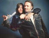 Andrew Lincoln and Norman Reedus Signed - Autographed The Walking Dead 11x14 inch Photo - Guaranteed to pass PSA or JSA