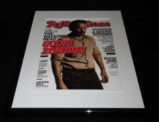 Andrew Lincoln Framed 11x14 ORIGINAL 2013 Rolling Stone Magazine Cover
