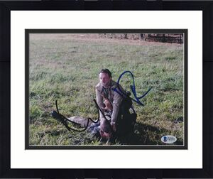 Andrew Lincoln Jon Bernthal Signed 8x10 Photo Walking Dead Beckett Bas Autograph