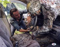 Andrew Lincoln SIGNED 11x14 Photo Rick Grimes Walking Dead PSA/DNA AUTOGRAPHED