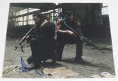 Andrew Lincoln Signed 11x14 Photo The Walking Dead Autograph Rick Psa Coa B