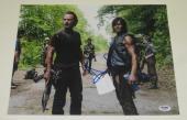 Andrew Lincoln Signed 11x14 Photo The Walking Dead Autograph Rick Psa Coa C