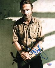 Andrew Lincoln SIGNED 8x10 Photo Rick Grimes Walking Dead PSA/DNA AUTOGRAPHED