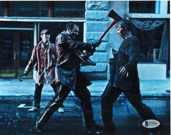 Andrew Lincoln Signed 8x10 Photo Walking Dead Beckett Bas Autograph Auto Coa Ad