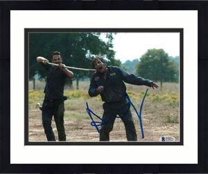 Andrew Lincoln Signed 8x10 Photo Walking Dead Beckett Bas Autograph Auto Coa C