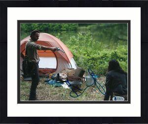 Andrew Lincoln Signed 8x10 Photo Walking Dead Beckett Bas Autograph Auto Coa F