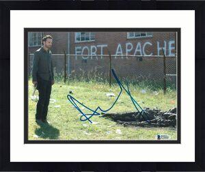 Andrew Lincoln Signed 8x10 Photo Walking Dead Beckett Bas Autograph Auto Coa R