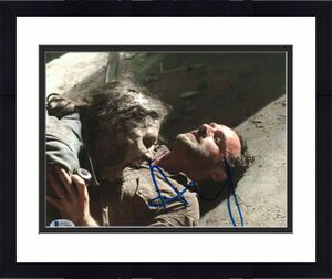 Andrew Lincoln Signed 8x10 Photo Walking Dead Beckett Bas Autograph Auto Coa U