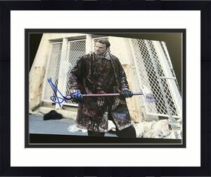 ANDREW LINCOLN SIGNED AUTOGRAPH 8x10 PHOTO THE WALKING DEAD BECKETT BAS COA NY E