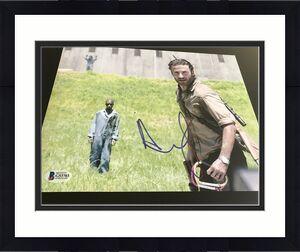 ANDREW LINCOLN SIGNED AUTOGRAPH 8x10 PHOTO THE WALKING DEAD BECKETT BAS COA NY K