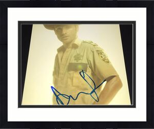 "Andrew Lincoln Signed Autograph New ""the Walking Dead"" Promo 8x10 Photo Coa A"