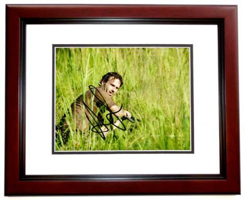 Andrew Lincoln Signed Autographed The Walking Dead 8x10 Inch Photo