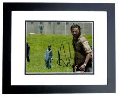 Andrew Lincoln Signed - Autographed The Walking Dead 8x10 Photo BLACK CUSTOM FRAME - Rick Grimes