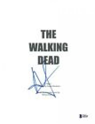 Andrew Lincoln Signed Autographed THE WALKING DEAD Pilot Script Beckett BAS COA