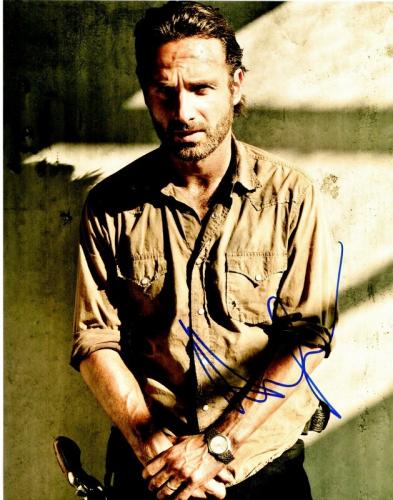 Andrew Lincoln Signed - Autographed The Walking Dead - Rick Grimes 11x14 inch Photo - Guaranteed to pass PSA/DNA or JSA