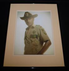 Andrew Lincoln Signed Framed 16x20 Photo Poster Display AW The Walking Dead