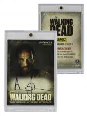 Andrew Lincoln Signed Officially Licensed The Walking Dead Season Three Cryptozoic Card