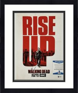 Andrew Lincoln signed The Walking Dead 11x14 Photo Rick Auto A ~ Beckett BAS COA