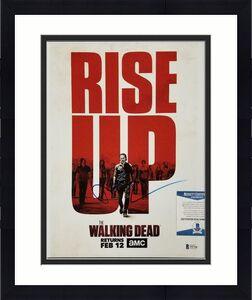 Andrew Lincoln signed The Walking Dead 11x14 Photo Rick Auto B ~ Beckett BAS COA