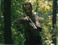 Andrew Lincoln signed The Walking Dead 8x10 photo W/Coa Rick Grimes #3