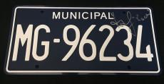Andrew Lincoln Signed 'the Walking Dead' License Plate Jsa Coa