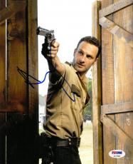 Andrew Lincoln Signed Walking Dead Autographed 8x10 Photo PSA/DNA #AC17583