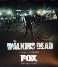Andrew Lincoln, Steve Yeun, Lauren Cohan, and Norman Reedus Signed - Autographed The Walking Dead TWD 8x10 Photo