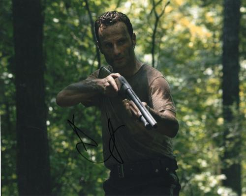 Andrew Lincoln The Walking Dead Rick Grimes Signed 8x10 Photo w/COA #1
