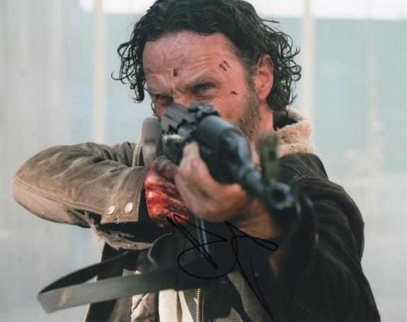 Andrew Lincoln The Walking Dead Rick Grimes Signed 8x10 Photo w/COA