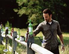 Andrew Lincoln The Walking Dead Signed 11X14 Photo PSA/DNA #W46313