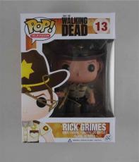 Andrew Lincoln Walking Dead Autographed Signed Funko Pop Doll Certified JSA COA