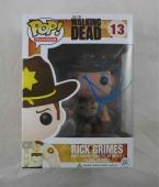 Andrew Lincoln Walking Dead Autographed Signed Funko Pop Doll JSA COA