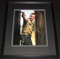 Andrew Lincoln Walking Dead Framed 11x14 Photo Poster