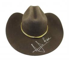 Andrew Lincoln Walking Dead Rick Grimes Autographed Signed Hat Authentic JSA COA