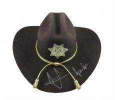 Andrew Lincoln Walking Dead Rick Grimes Autographed Signed Hat Certified JSA COA