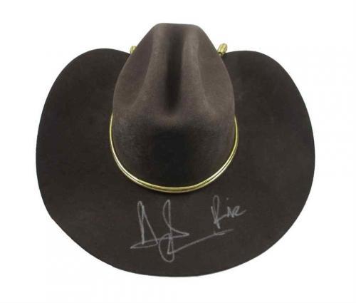 Andrew Lincoln Walking Dead Rick Grimes Autographed Signed Hat JSA COA