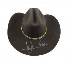 Andrew Lincoln Walking Dead Rick Grimes Autographed Signed Hat JSA COA AFTAL