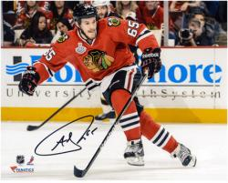 Andrew Shaw Chicago Blackhawks 2013 Stanley Cup Final Champions Autographed 8'' x 10'' Photograph - Mounted Memories