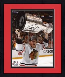 "Framed Andrew Shaw Chicago Blackhawks 2013 Stanley Cup Final Champions Autographed 8"" x 10"" Celebration Photograph"
