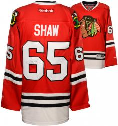 Andrew Shaw Chicago Blackhawks Autographed Premier Red Jersey