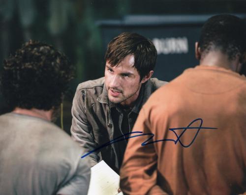 Andrew West The Walking Dead Gareth Zombie Killer Signed 8x10 Photo w/COA #5