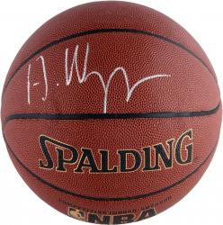 Andrew Wiggins Autographed Indoor/Outdoor Basketball